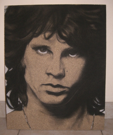 Jim Morrison par DOM